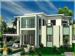 contemporary modern home plans contemporary house plans flat roof modern double storey south
