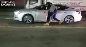 Long Island Drag Racing Amazon by See It Car Thief Drags Cop Along Brooklyn Street Brawl Erupts