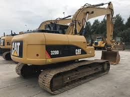 excavator on tracks caterpillar 320d l smitma