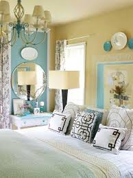 Soft Yellow Bedroom Yellow And Blue Bedrooms Ikat Window Panels Contemporary Bedroom