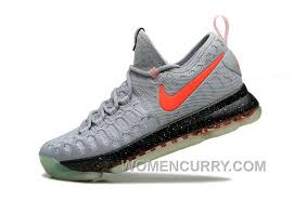 Nike Kd 9 nike kd 9 limited edition gray black fluorescence mens