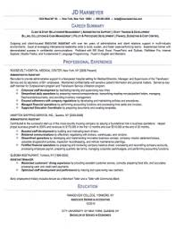 administrative assistant sample resume career summary with