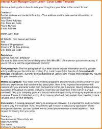 auditor cover letter sample templates memberpro co