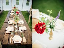 bamboo plates wedding homespun bohemian canadian wedding katarina green