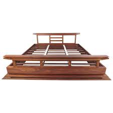 teak platform bed king home beds decoration teak bedroom furniture 102 for sale at 1stdibs contemporary modern solid teak king size bed frame