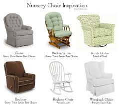 Rocking Glider Chair For Nursery Amazing Rocking N Gliding Nursery Rocking Chairs Rocking Chairs