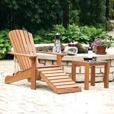 Homemade Adirondack Chair Plans Ottomans Adirondack Chair With Ottoman Costco Pullout Reclining