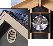 gable attic fan installation solar star gable end attic fan conversion kit http woodheatstoves