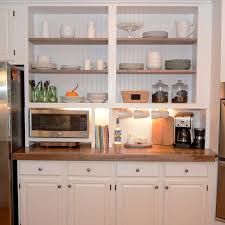 Kitchen Cabinets Designs And The Benefits - Kitchen cabinet without doors