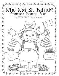 who was st patrick upper grade grammar u0026 comprehension packet