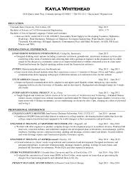 Environmental Engineer Resume Engineering Resume