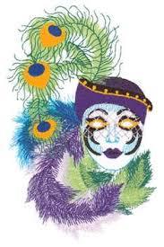 mardi gras embroidery designs mardi gras mask embroidery designs machine embroidery designs at