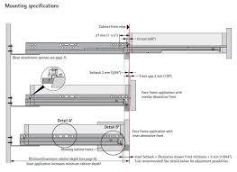 hettich quadro v6 full extension under mount soft close drawer