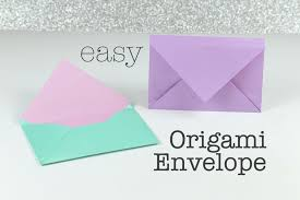 how to make envelopes how to make an easy origami envelope origami envelope easy