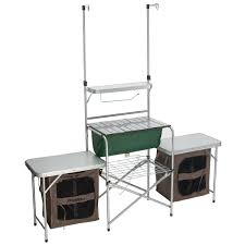 Gander Mountain Deluxe Camp Kitchen  Capming Reliving - Oztrail camp kitchen deluxe with sink