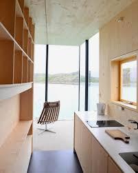 norwegian interior design cantilevered cabins for manshausen resort by snorre stinessen