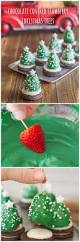 strawberry santa hat brownie bites recipe family christmas