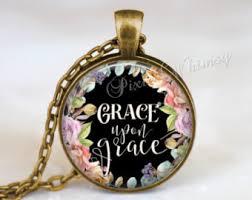 christian necklace christian necklace etsy