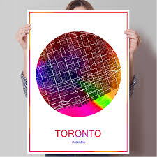 Canada Cities Map by Canada Cities Promotion Shop For Promotional Canada Cities On