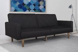 sofa futon dhp paxson convertible futon bed with linen