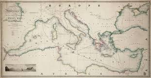 Map Of Mediterranean Sea Mediterranean Diasporas Politics And Ideas In The Long 19th