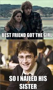 Blowjob Meme - just for fun pic harry potter best friend got the girl so i