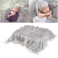 newborn photography props oulii baby photo props soft fur quilt photographic mat
