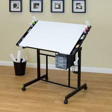 Walmart Drafting Table Small Drafting Table On Wheels Best Table Decoration