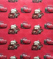 cars wrapping paper hallmark s disney pixar cars christmas gift wrap 50 sq ft
