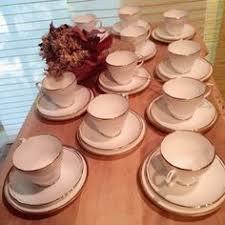 paragon belinda bone china coffee set for 4 tea pot creamer