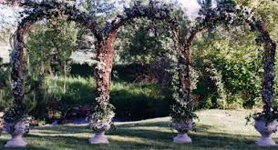 wedding arch grapevine trish s weddings more