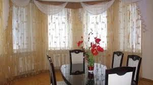 inspiring modern kitchen curtains home designs bay ideas pleasant