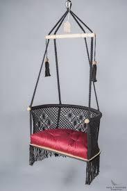 black hanging chair skyline design heri hanging chair wood