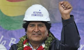 evo morales i like to represent pindostan as having a deeply attitude