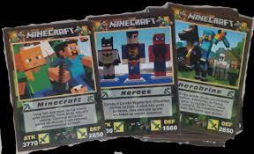 minecraft cards novos cards do minecraft série minecraft part 4