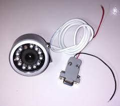 Jual PTC01 Infrared RS232 Serial Camera