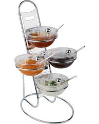 amazing deal on aps paderno world cuisine chromed three tier