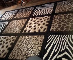 Zebra Area Rugs Zebra Print Area Rug Bedroom Windigoturbines Brown Zebra Print