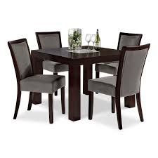 Rustic Dining Room Sets by Value City Furniture Dining Room Sets Sets Some Armless Black