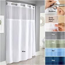 Hookless Waffle Shower Curtain Hookless Rbh40ls01 Shower Curtain Lowe 39 S Canada Hookless