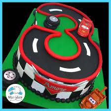 lightning mcqueen birthday cake 3 carved cars themed cake blue sheep bake shop
