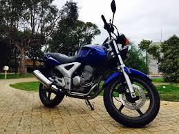 honda cbf honda cbf 250 good condition lows km for sale