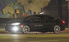 future rapper cars 2015 chrysler 200 spy photos u2013 future cars u2013 car and driver