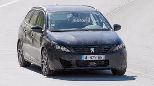 peugeot price usa refreshed peugeot 308 spied testing with wagon body