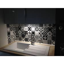carrelage vintage cuisine carrelage adhésif vintage bilbao patchwork smart tiles