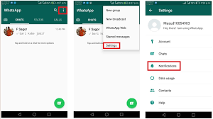 notification settings android customize whatsapp notifications on android msntechblog