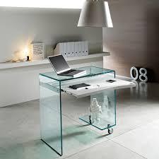 Glasschreibtische Design Schreibtische Mit Wow Effekt Die Wohn Galerie