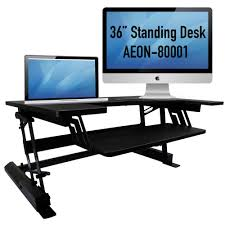 Sit To Stand Desk by Amazon Com Standing Desk For Home Or Office 36