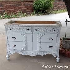 Antique Dresser Vanity Bathroom Vanity Custom Converted From Antique Dresser Painted