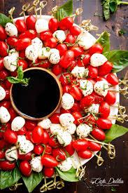 christmas wreath caprese christmas wreath cafe delites